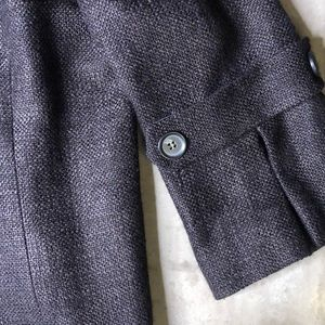 Lafayette 148 New York Jackets & Coats - Lafayette 148 Black Tweed Blazer Frayed Edges